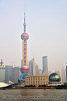 Oriental Pearl Tower and Convention Centre. Shanghai