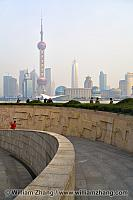 Walkway at Monument to the People's Heroes. Shanghai