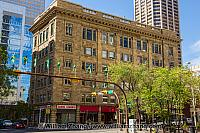 Sandstone building in Calgary