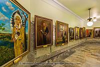 Portraits of Lieutenant Governors of Alberta province. Edmonton