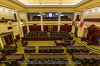 Legislative Chamber of Alberta in Edmonton