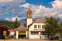 Art gallery in Jasper town site. Alberta, Canada