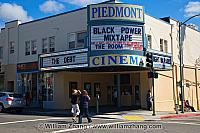 Piedmont Cinema since 1917 on Piedmont Avenue. Oakland, CA