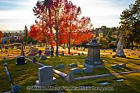 Graves at Mountain View Cemetery, Oakland, CA